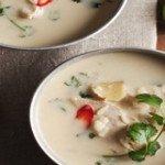 Súp gà cốt dừa Thái Lan ngon chuẩn vị cho bữa sáng đủ dinh dưỡng