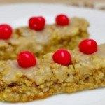 Bánh ngọt hạnh nhân đậu phụ mới lạ nhưng không kém phần hấp dẫn