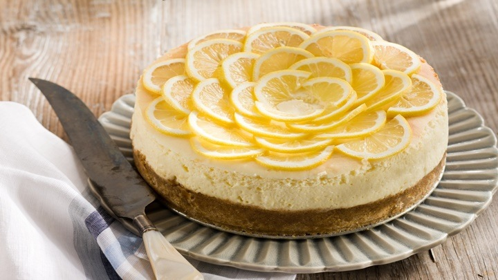 banh cheesecake chanh 1