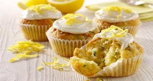 Bánh muffin bí xanh cho làn da tươi trẻ và vẻ đẹp tươi mới