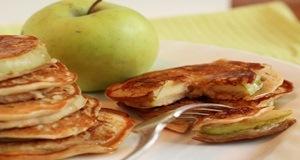 apple ring pancake 1