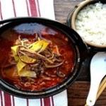 Súp cay thịt bò và rau kiểu Hàn ấm áp mùa đông
