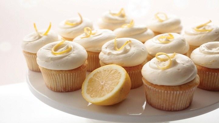 cupcake huong chanh