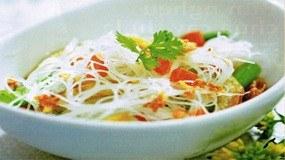 Bún chay khô thơm ngon dễ làm cho tín đồ ăn chay
