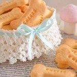 Cách làm bánh quy bơ phô mai hình khúc xương dễ thương