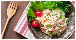 Tươi ngon mềm mịn với salad khoai tây kiểu Hàn Quốc