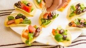 salad snack khoai tay