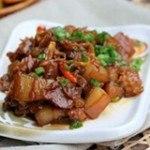 Món ngon miền Trung: thịt ba chỉ kho xơ mít