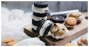 Hướng dẫn làm bánh quy kẹp kem mát lạnh cho ngày nóng bức