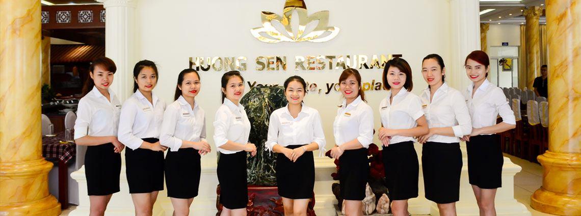Nhượng quyền kinh doanh Nhà Hàng Hương Sen